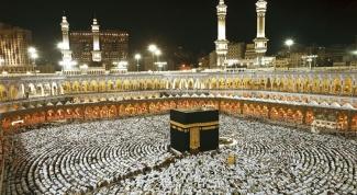 What is inside Kaaba