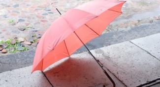 Что сделать из старого зонта