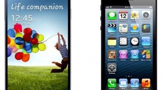 Чем отличается iPhone 5 и Samsung Galaxy S4