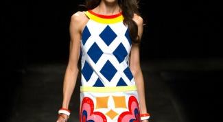 Как сшить платье в стиле 60-х