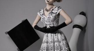 Как сшить платье в стиле 50-х