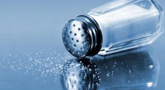 Почему соль консервант