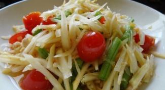 Как приготовить салат Сом-Там