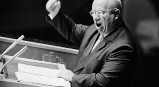 Зачем Хрущев стучал ботинком по трибуне в Америке