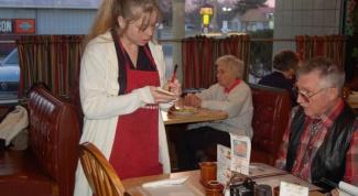 Сколько чаевых давать официанту