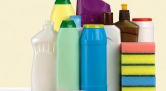 Как хранить моющие средства и стиральный порошок