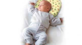 Как выбрать ортопедическую подушку ребенку
