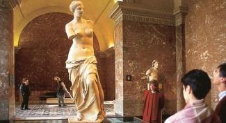 Где находится статуя Венеры Милосской