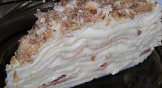Сколько калорий в торте «Наполеон»