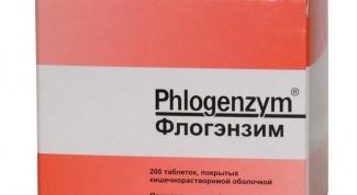 «Флогэнзим»: инструкция по применению и отзывы