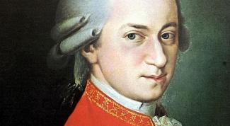 Самые известные произведения Моцарта