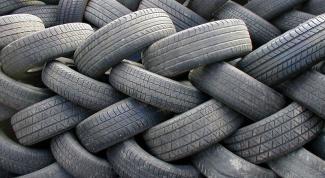 Как утилизовать изношенные шины