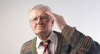 Когда наступает старческий склероз