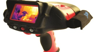 How does a thermal imaging camera