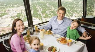 Как выбрать ресторан для семьи с ребенком