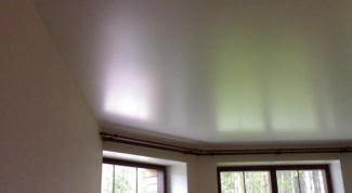 Как сделать потолок из акрила