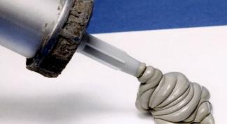 Сколько сохнет силиконовый герметик