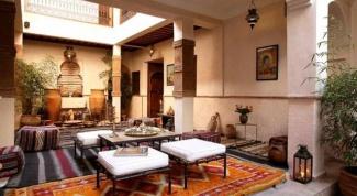 Марокканский стиль в интерьере: выбираем ковры