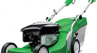 Why not start petrol lawn mower