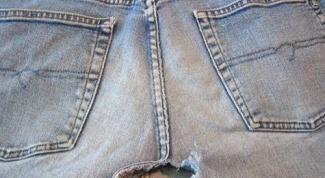 Почему джинсы часто рвутся между ног и как этого избежать