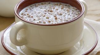 Сколько калорий в гречневой каше на воде с молоком
