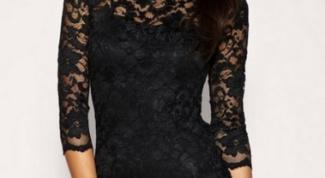 Кружевное платье-футляр