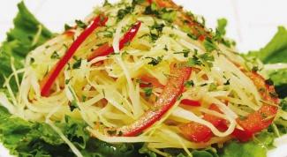 Рецепты салатов с капустой