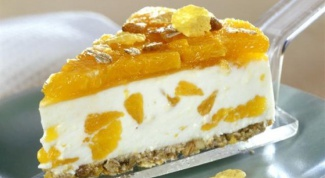 How to cook cheese cake with mandarins