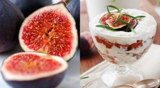 Как приготовить десерт из инжира и миндаля