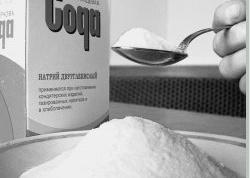 Маска с содой для смывания цвета волос
