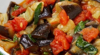 Капоната с оливками