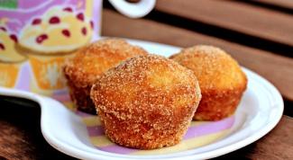 Как приготовить сахарные мини-пончики с корицей и мускатным орехом