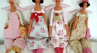 """Отличительные черты куклы """"Тильды"""""""