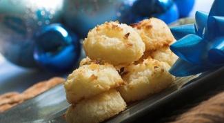 Хрустящее кокосовое печенье