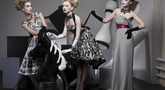 Платья в стиле new look: правильный выбор!