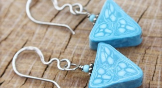 How to make jewelry from polymer clay?