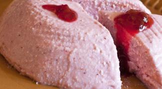 Как приготовить творожное суфле с вареньем
