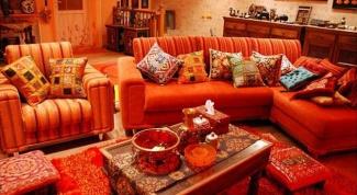 Восточная сказка в интерьере квартиры