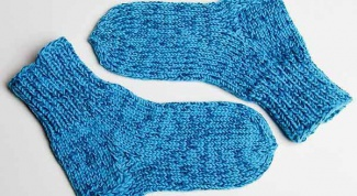 Вязание теплых носочков ребенку