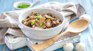 Вкуснейшее сочетание грибов и лука: как приготовить?