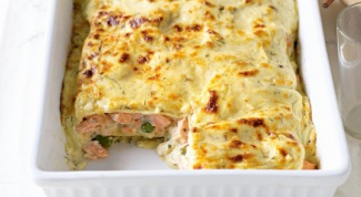 Как приготовить лазанью с лососем