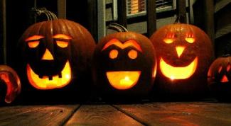 Как сделать тыквенный фонарь на Хэллоуин