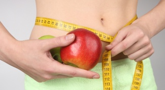 How to lose weight on apples