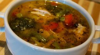 Нежный суп с баклажанами