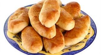 Рецепт жареных пирожков с картошкой