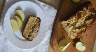 Как приготовить яблочный кекс со штрейзелем