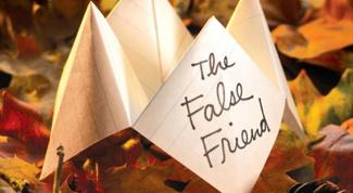 Урок английского языка: ложные друзья переводчика