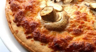 Как сделать пиццу с грибами