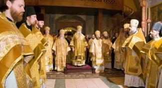 Православное духовенство: степени священнослужения