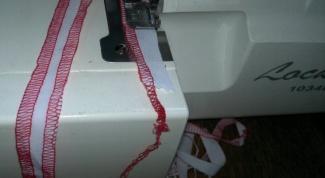 Как научиться шить на оверлоке